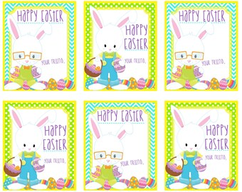 Happy easter gift tags craftbnb happy easter gift tags negle Choice Image