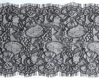 eyelash lace trim sold by 3yardS,wedding Lace trim, 18cm Eyelash lace for lace dress-512