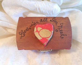 Love is All You Need Trinket Box