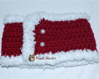 Crochet Baby Ear Warmer - Adjustable