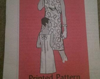 Vintage dress pattern, size 38