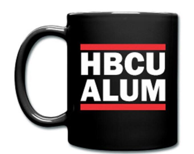 HBCU Alum Alumi Alumnus Black Ceramic Coffee Mug