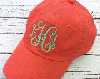 Monogrammed Ball Cap