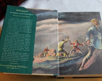 1948 edition of Kidnapped by Robert Louis Stevenson