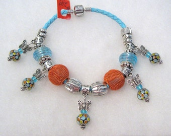 299 - CLEARANCE - Spotted Butterfly Bracelet