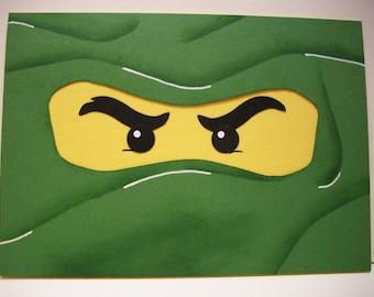 Lego Ninjago - Happy Birthday card