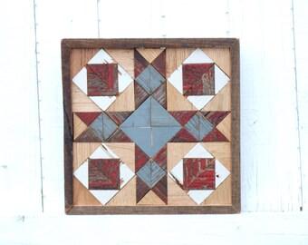wooden cross barn quilt, americana barn quilt, southwest decor
