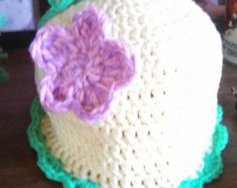 Pixie crochet beanie