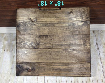 "Reclaimed Wood Blank Canvas/ 18"" x 18""/ Make Your Own Sign/ Blank Pallet Wood Sign/ Blank Wood Sign/ Distressed Blank Wood Sign"
