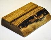 Eco friendly Reclaimed Solid Wood iPad stand & iPad holder