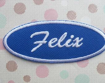 Fix-It Felix Jr Name Patch - Wreck-It Ralph /  Iron On Patch