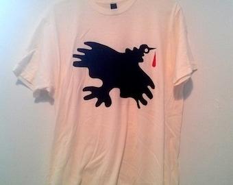 Vulture Shirt - %100 cotton - xs/sm/l/xl - women's s/m/l - tultex shirt - limited edition