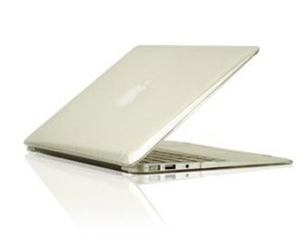 """Crystal See Thru CLEAR Hard Case Cover for Macbook Air 13"""" Model: A1369 and A1466"""