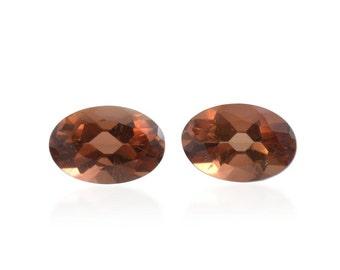 Mocha Scapolite Oval Cut Set of 2 Loose Gemstones 1A Quality 6x4mm TGW 0.80 cts.