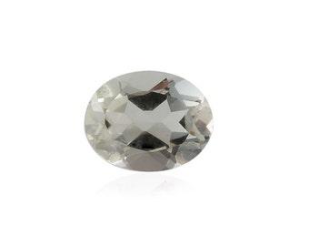Green Amethyst Oval Cut Loose Gemstone 1A Quality 9x7mm TGW 1.40 cts.