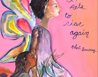 Fairy paintings with quotes