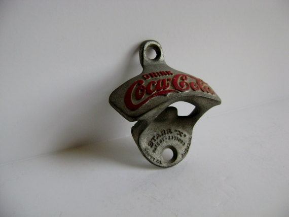 vintage starr x coca cola bottle opener by creamcitylostnfound. Black Bedroom Furniture Sets. Home Design Ideas