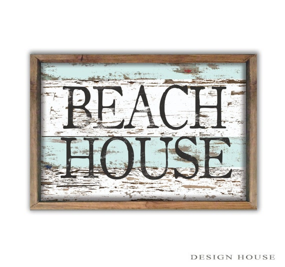 Decorative Signs For Your Home: Beach House Decor Summer House Signs Beach Signs Beach House