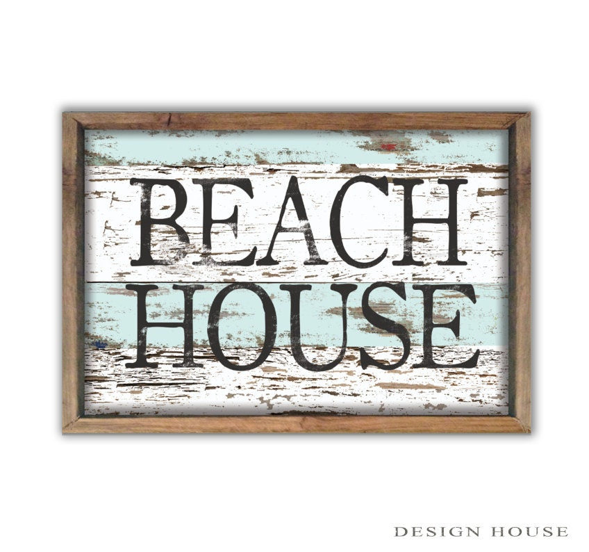 Beach house decor summer house signs beach signs beach house for Summer beach house decor