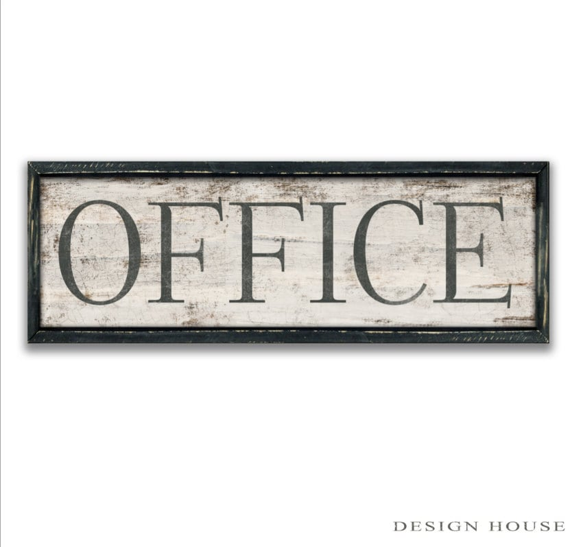 Https Www Etsy Com Listing 229701693 Office Sign Office Wall Art Office