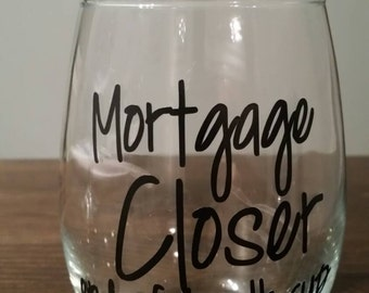 Mortgage Closer End of Month Cup