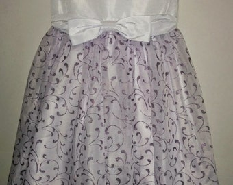 SALE Size 3 Toddler Girls Easter Lavender Purple Sparkle Glitter Boutique Twirly Twirl Dress Dress Ready To Ship Church Dress EEgg Hunt