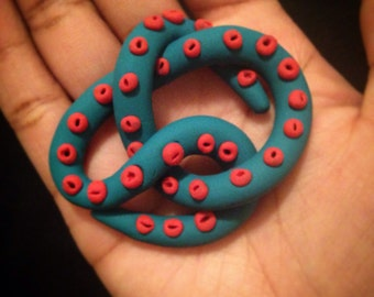 Polymer Clay Tentacle Cluster