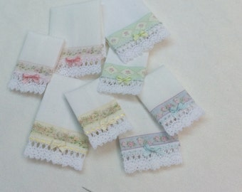 Handmade towels in cotton