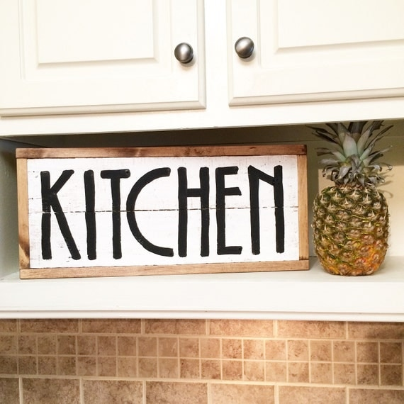 Rustic Kitchen Signs: Kitchen Decor Rustic Kitchen Decor Pallet Decor Pallet
