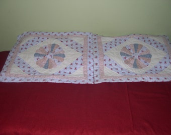 Pillow Shams (2) Country pattern
