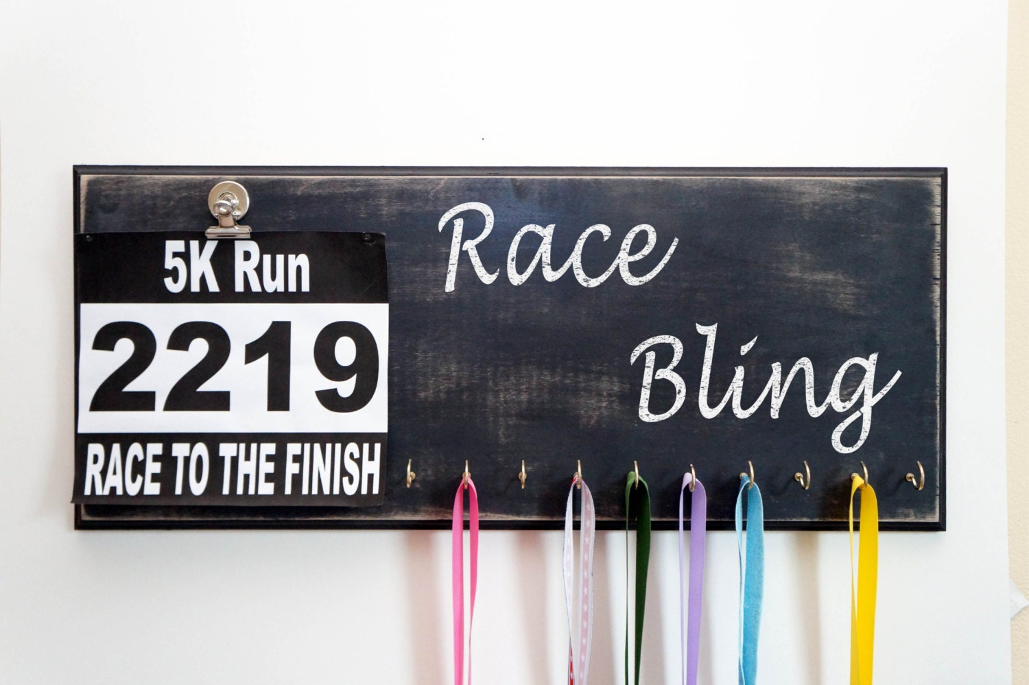 Race Bling Medal Holder Race Bling Bib Holder Medal