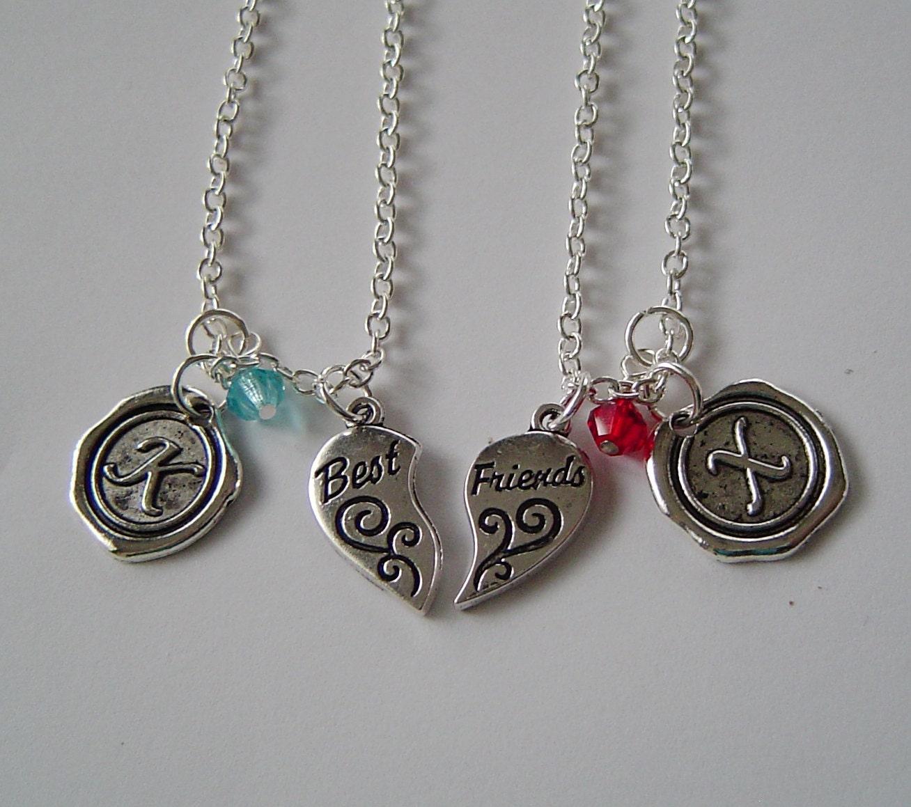 puzzle best friends necklaces best friend personalized