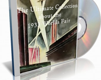 1933 Worlds Fair - A Century of Progress - Chicago's Second Worlds Fair on CD