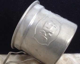 1940's Tin Baby Cup