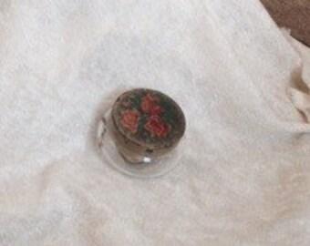 Unique Vintage Glass Jelly Preserve Jar