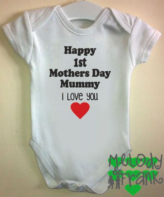 Happy 1st Mothers Day Mummy I Love You Gift Idea Cute Baby