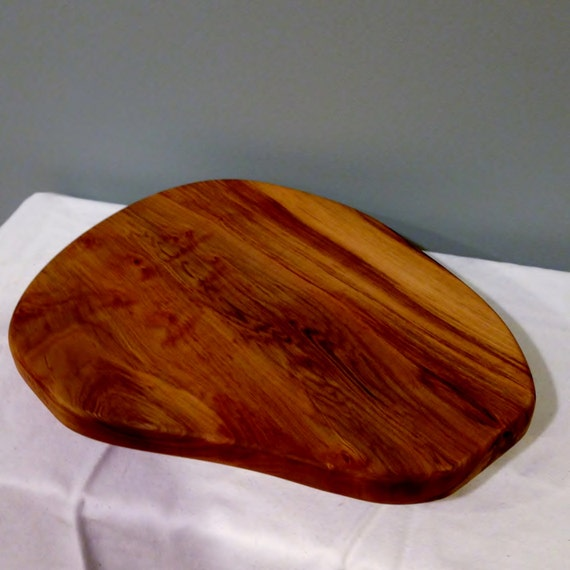 Footed Serving Tray Solid Wood Maple for Tapas or Cheese Board