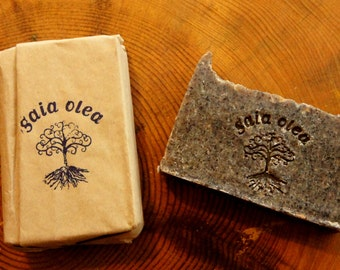 Natural Handmade Coffee Soap, Anticellulite and Odour Neutralising Coffee Soap, Stimulating Coffee Soap
