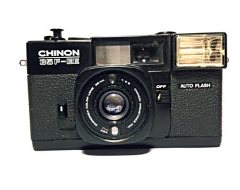 Chinon 35F-EE - easy to use lomo camera