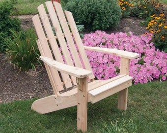 Red Cedar Kennebunkport Adirondack Chair