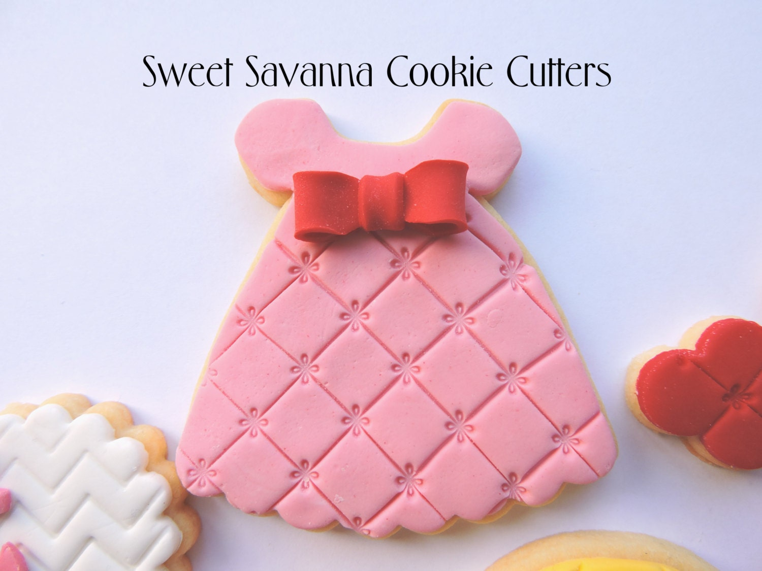 Our Clothing cookie cutters collection has fashionable cutters to suit every occasion. Whether you're looking for lingerie, formal wear, beach gear, baby clothes, athletic apparel or ethnic costumes, we've got the awesome apparel cookie cutters you need to outfit your cookie cutter collection.
