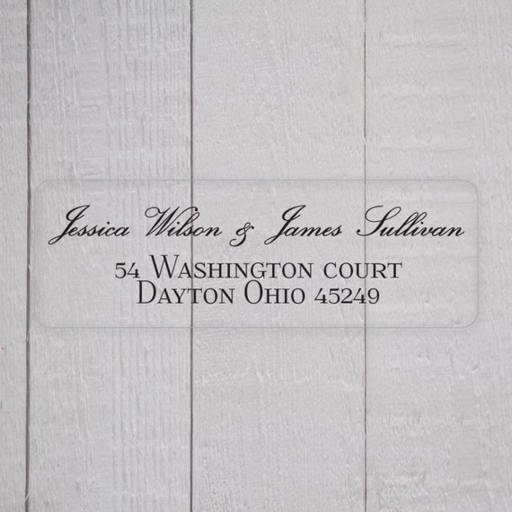 Clear Address Labels For Wedding Invitations 033 - Clear Address Labels For Wedding Invitations