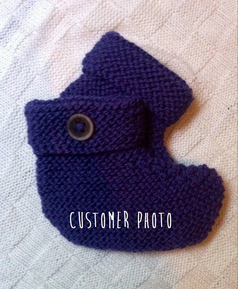 Beginner Knitting Kits Canada : Beginner s easy diy slippers knitting kit learn to knit