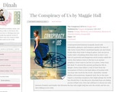 Responsive Blogger Premade Template - Dinah - Blog Design