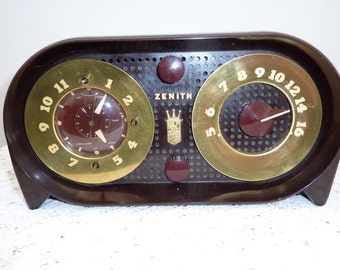 Zenith clock radio Model G516