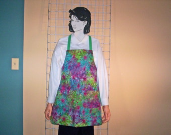 Adult apron abstract