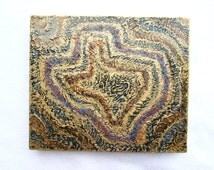 Contemporary Original Painting--Texas Wall Decor on Wood Block--Decorative Texas Art--Gift for Home.
