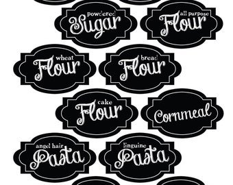 Pantry Labels - jpg or pdf