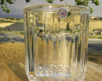 St. George Crystal 'Belmont' 24% Lead Crystal Ice Bucket, with original sticker