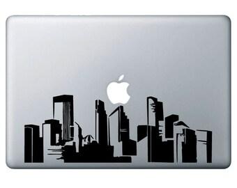Downtown Minneapolis, Vinyl decal Sticker, macbook, ipad